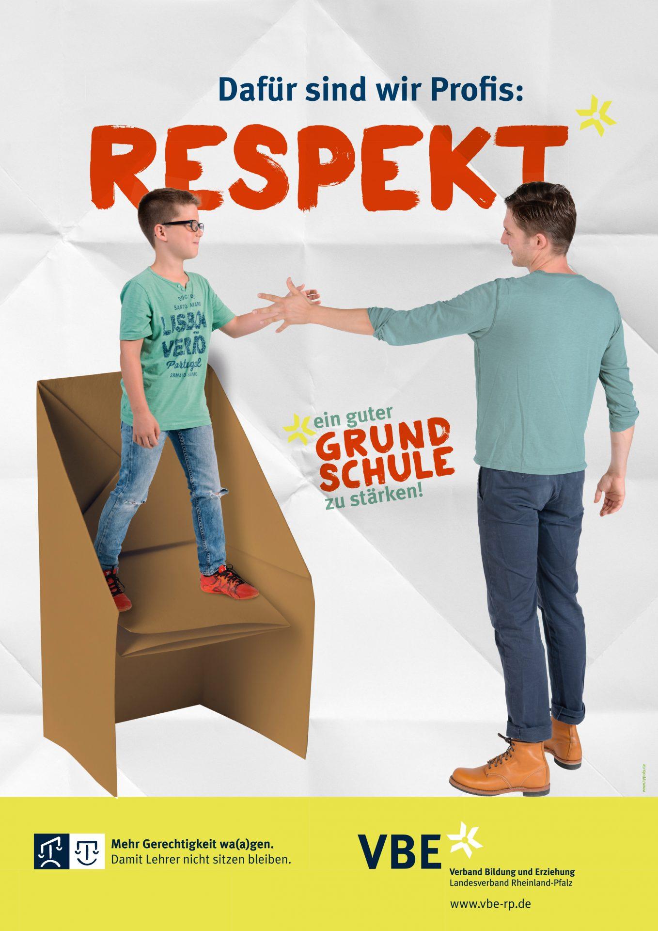"Plakatserie ""Respekt"" VBE - Typoly"