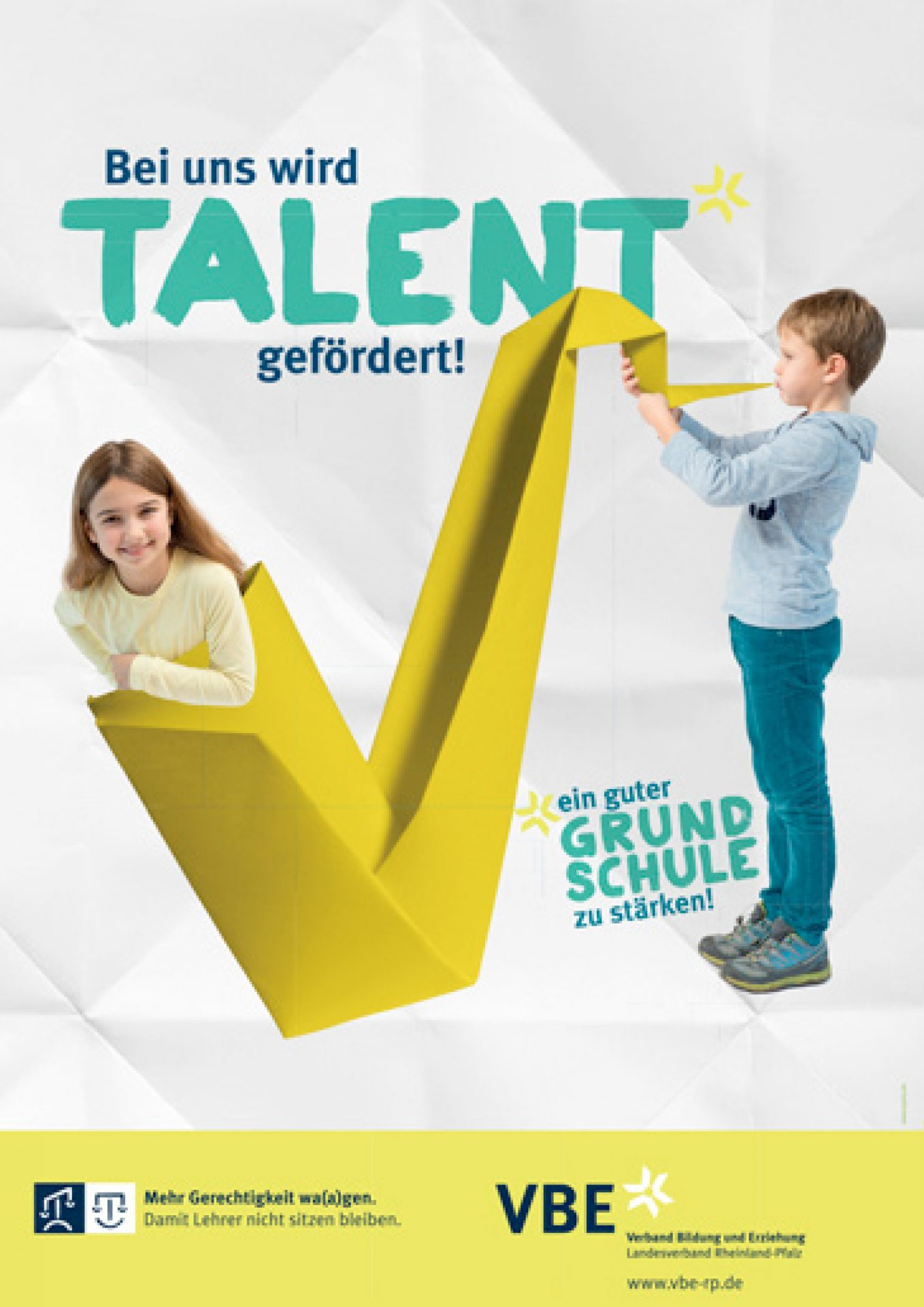 "Plakatserie ""Talent"" VBE - Typoly"