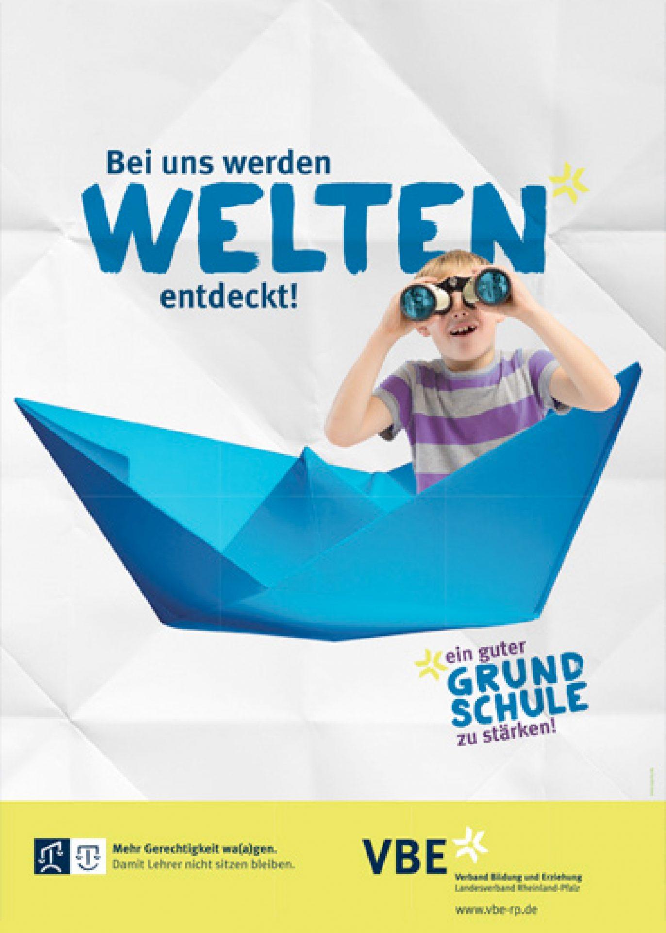 "Plakatserie ""Welten"" VBE - Typoly"
