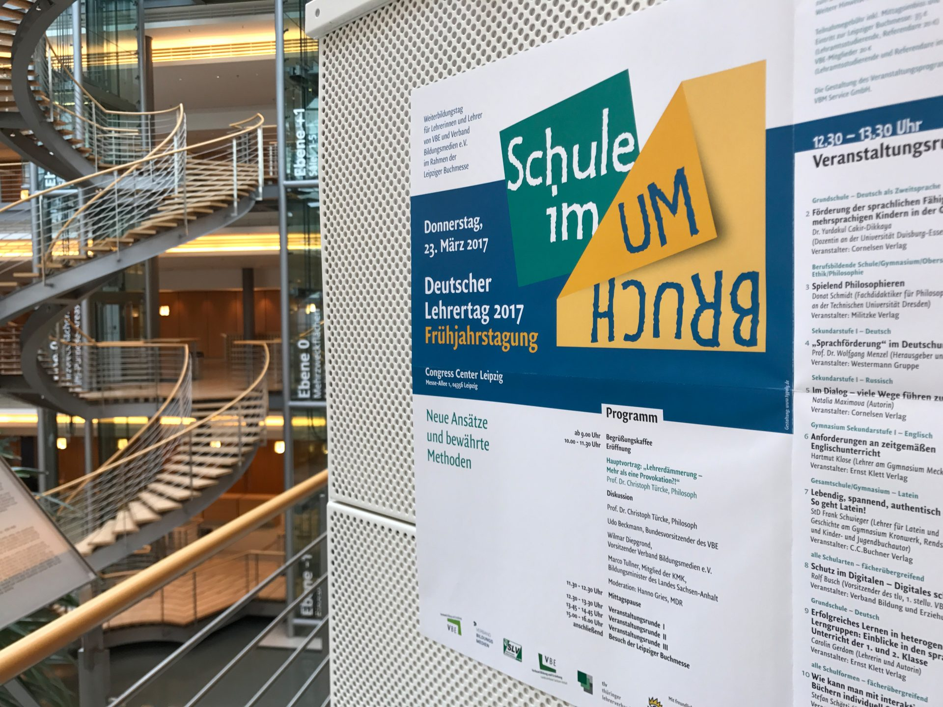 Plakat Deutscher Lehrertag - Typoly