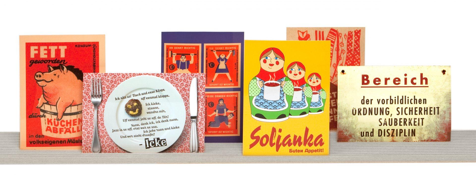 Postkartengestaltung von Typoly