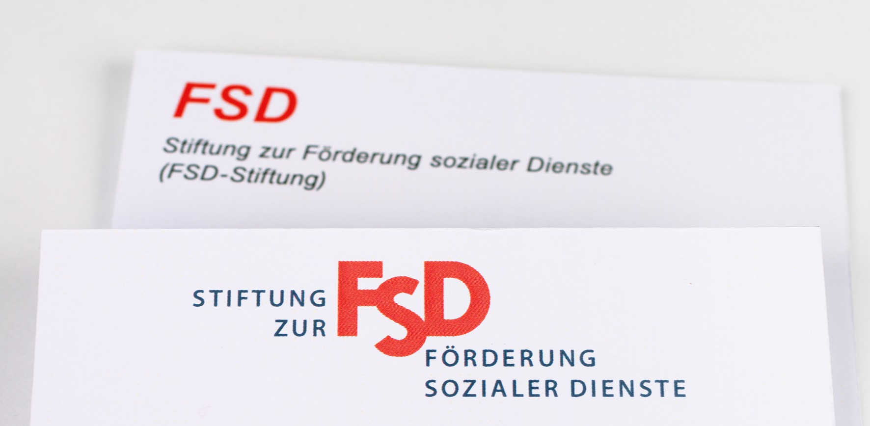Logo Re-Design FSD-Stiftung - Typoly