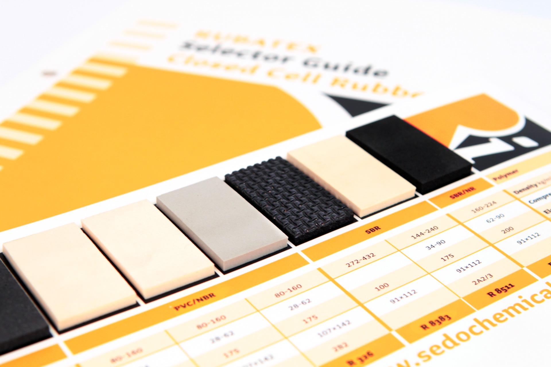 Musterkarten und Imageflyer - Typoly