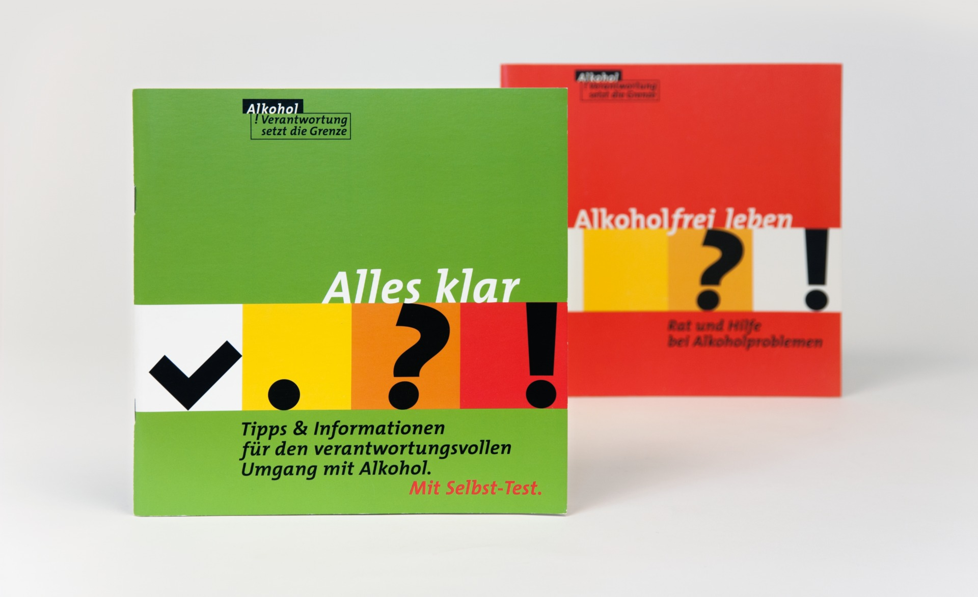 Gestaltung Titel Broschüren für BZgA - Editorial Design - Typoly