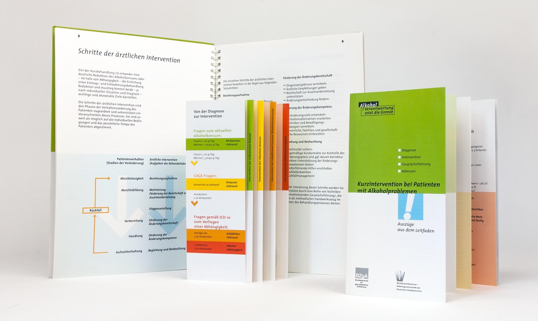 Broschüre, Infomaterial und Flyer