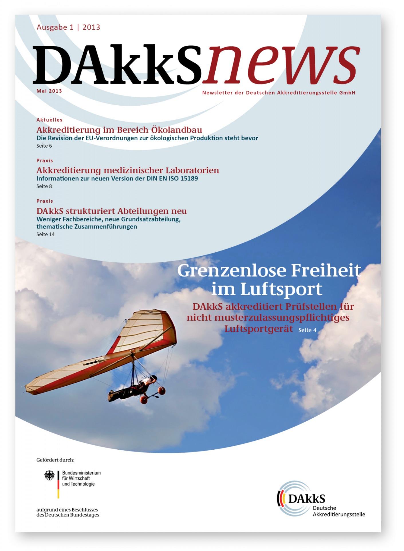 Newslettergestaltung Deutsche Akkreditierungsstelle - Typoly