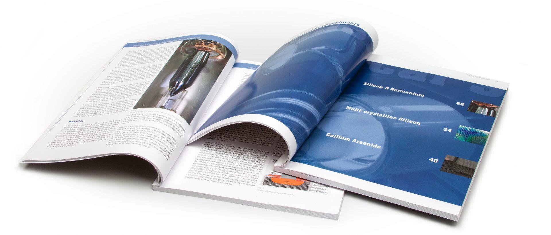 Annual Report Design Innenseiten - Typoly