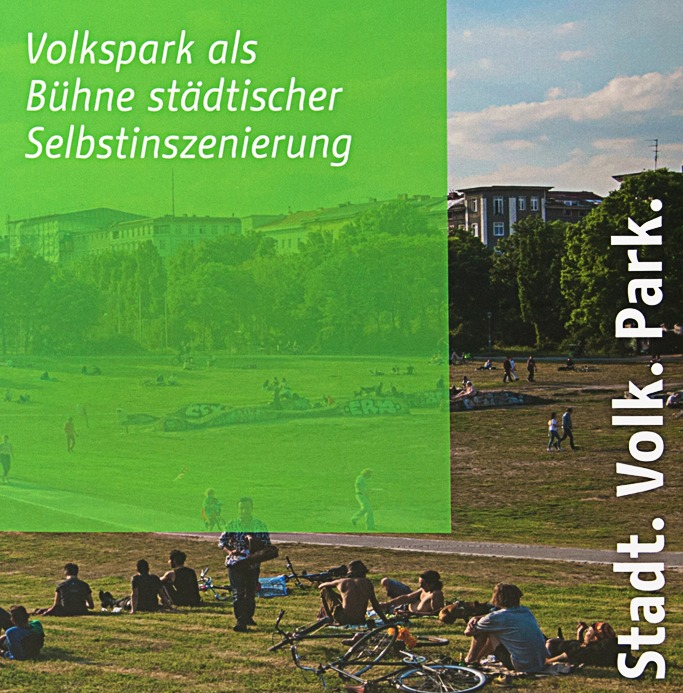 Editorial Design - Stadt Volk Park