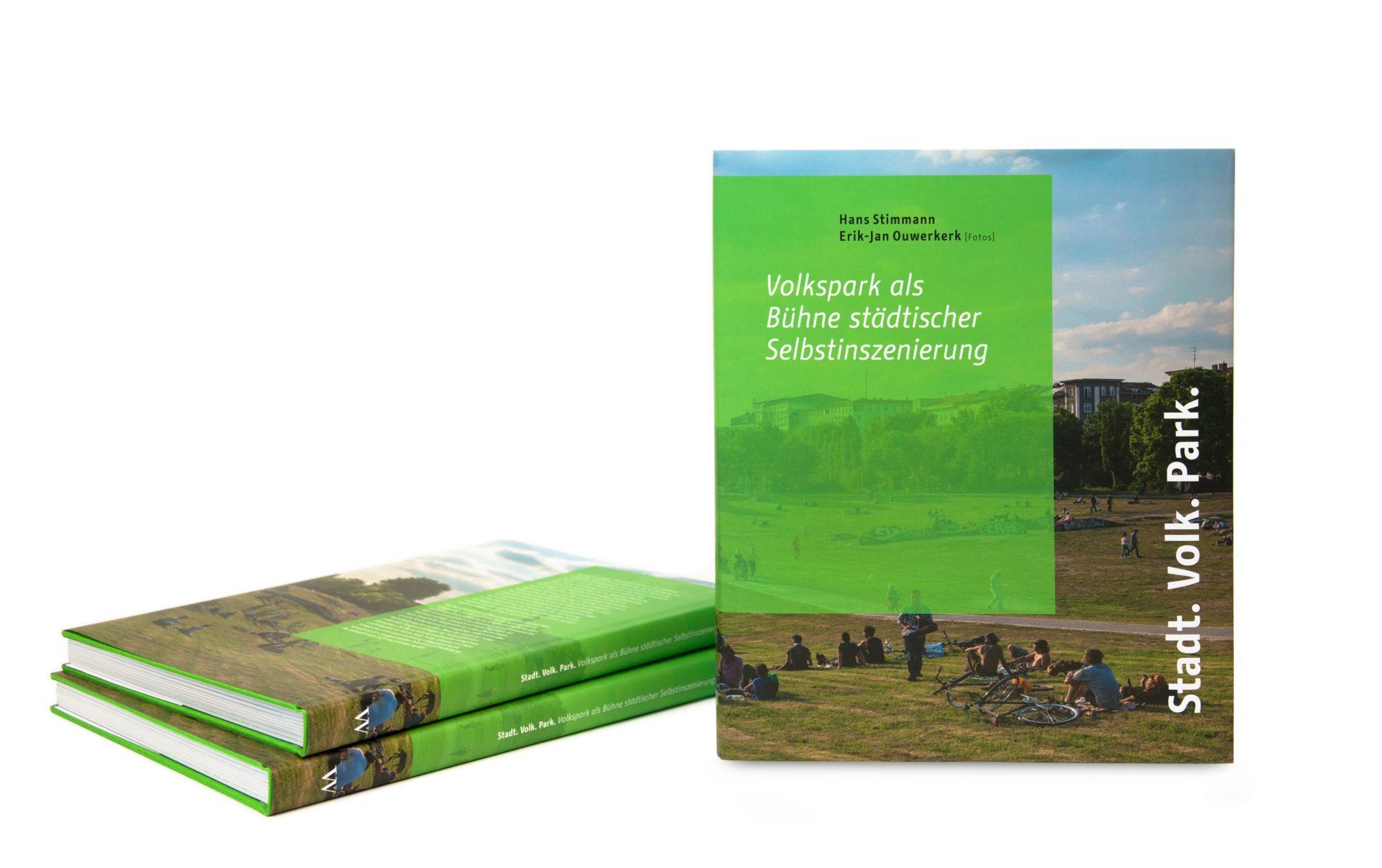 Bucheinband Stadt Volk Park - Typoly