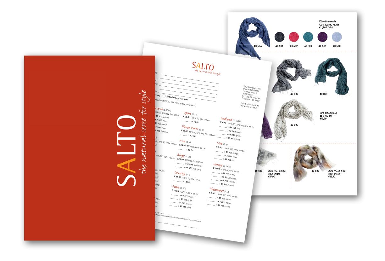 Mappe, Bestellformular und Faltblatt - Typoly