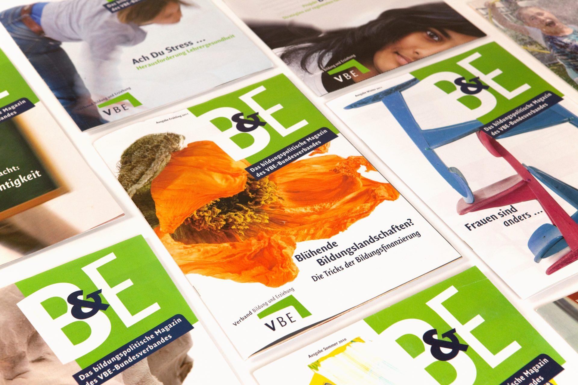 Mitgliedermagazin verschiedene Titelmotive- Typoly