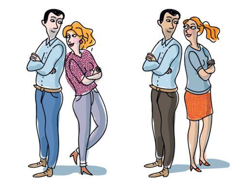 Entwürfe für Paar »Typ 1«