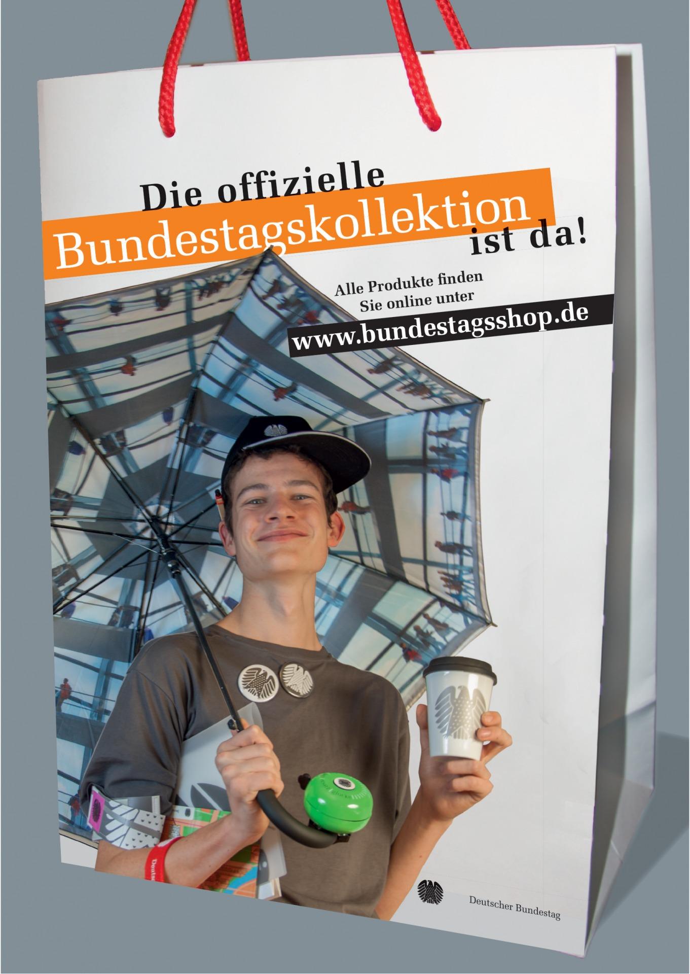 Plakat Bundestagsshop - Typoly