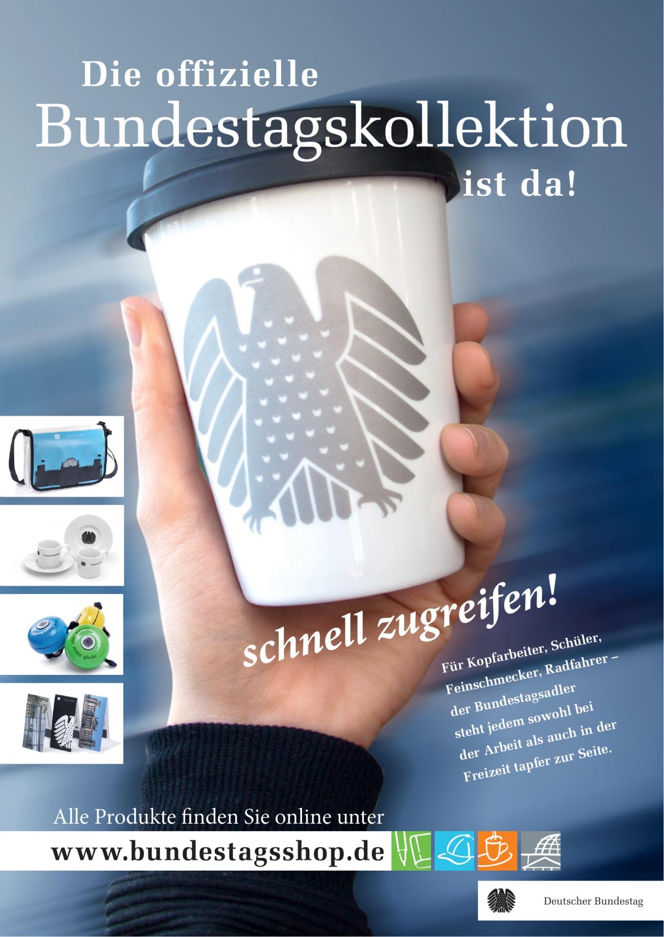 Plakat-Werbung für Merchandizingartikel - Typoly