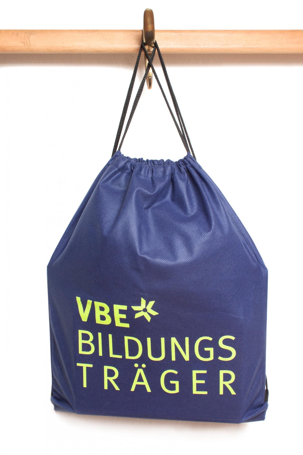 Rucksack mit Slogan bedruckt - Merchandizing - Typoly