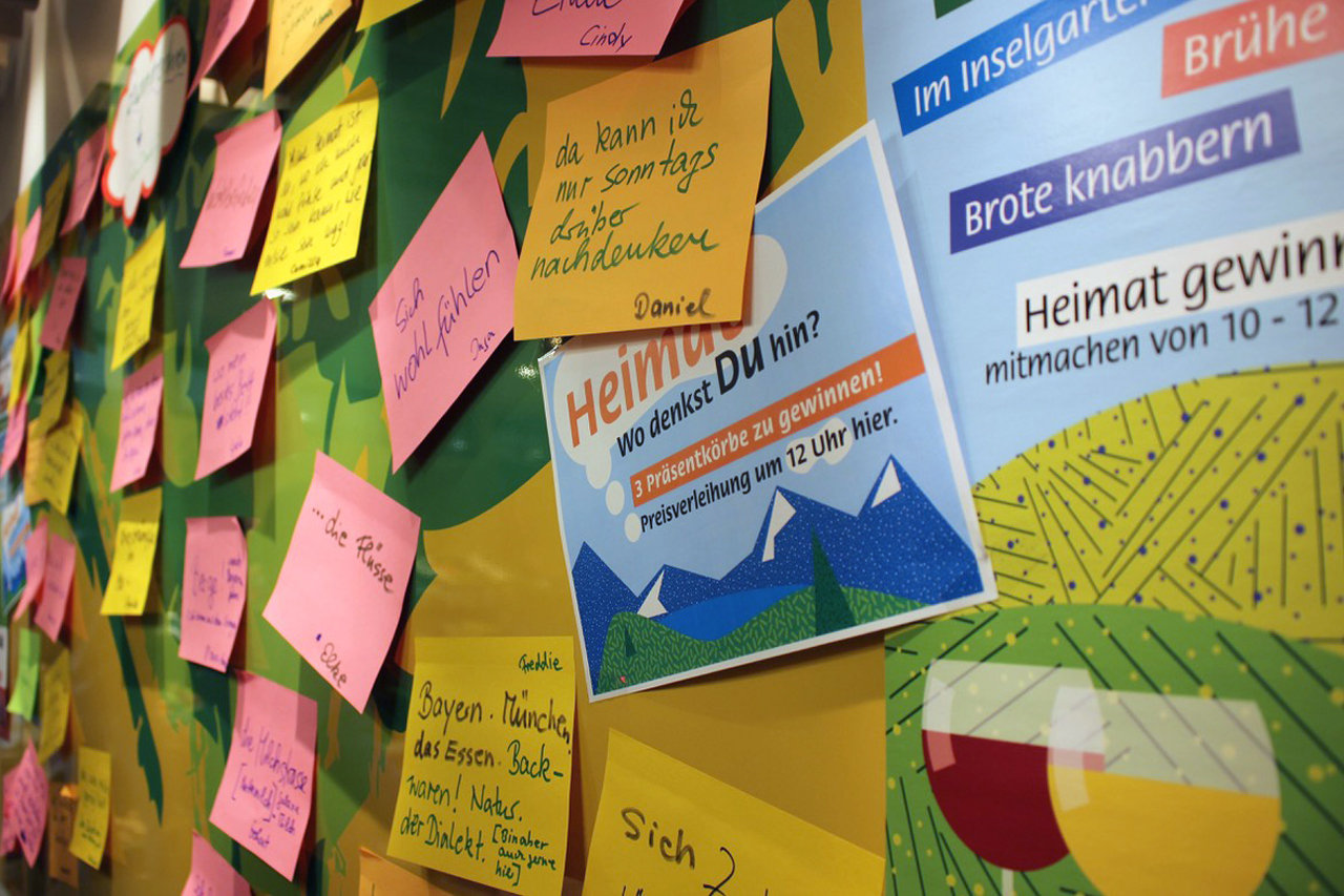 Heitmatgefühle – Interaktion mit dem Kiez