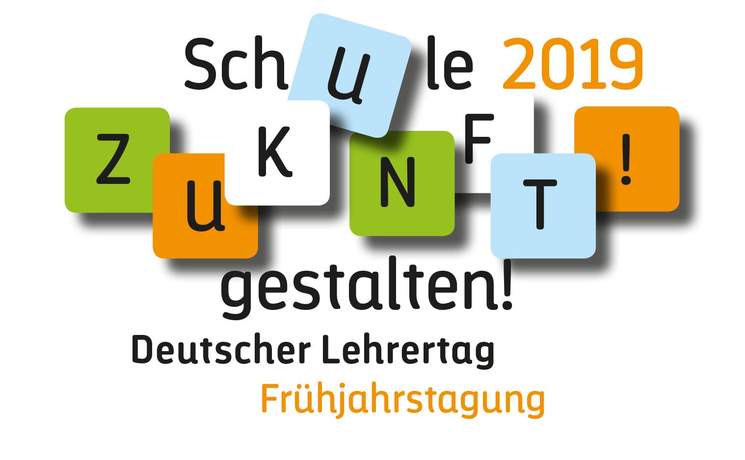 Veranstaltungs-Logo für den Lehrertag - Typoly