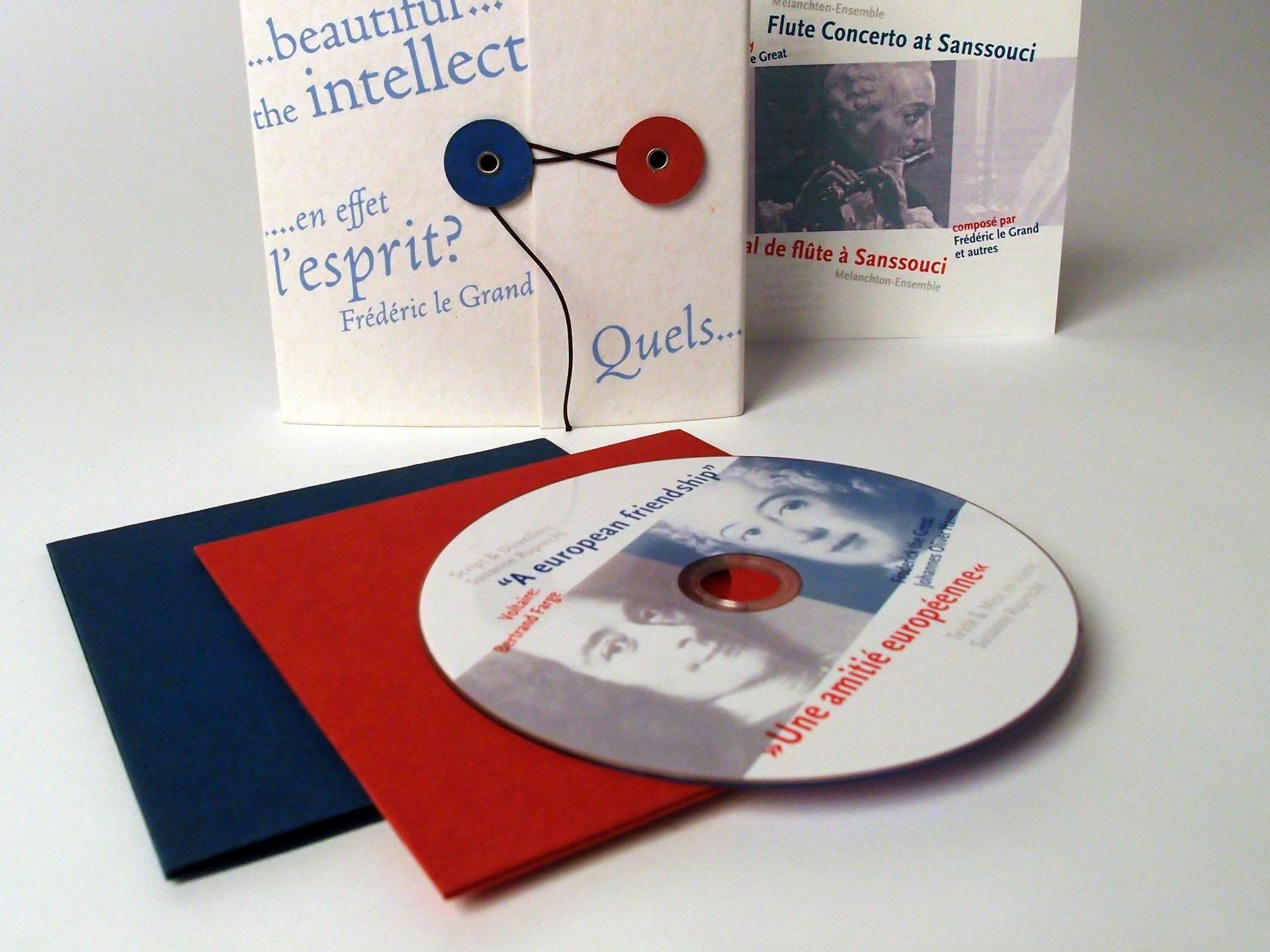 Gestaltung CD und Verpackung - Typoly