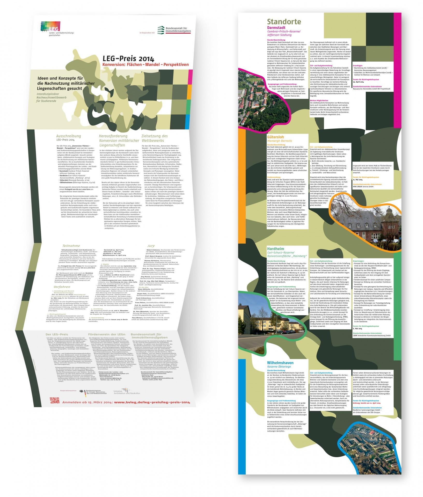 Gestaltung des Infoplakates für einen Studenten-Wettbewerb - Typoly