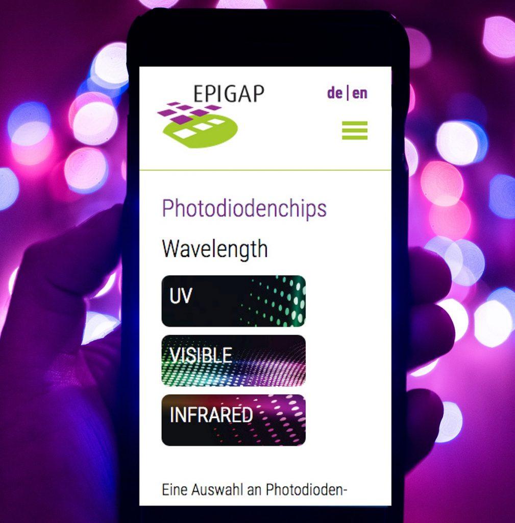 Webseiten - EPIGAP Optronic