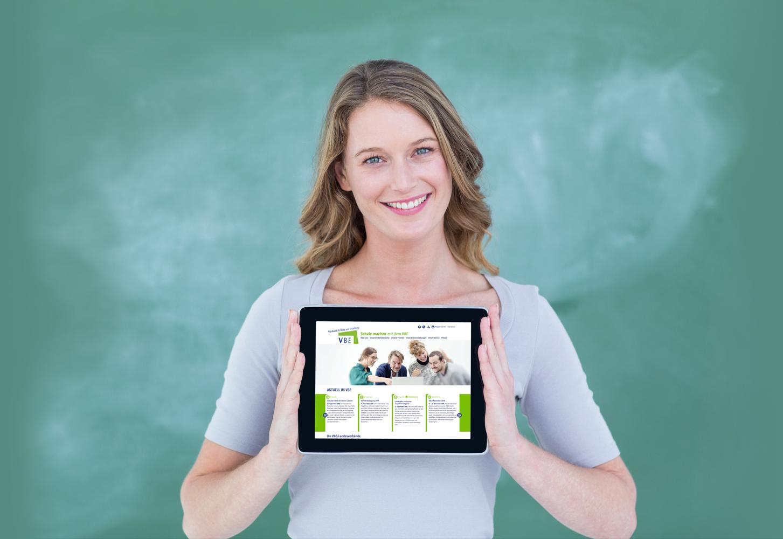 Webseiten Verband Bildung und Erziehung - Typoly