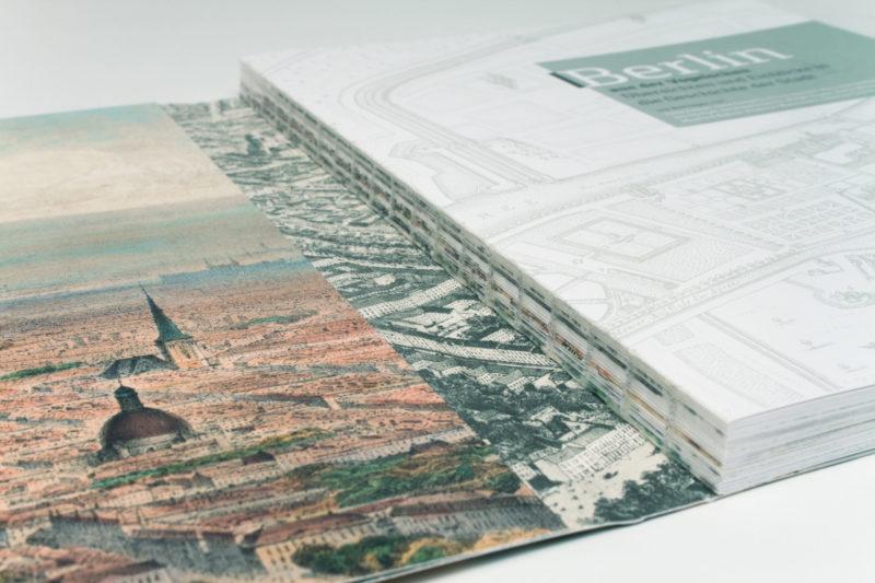 Buch mit Lay-Flat-Bindung / Schweizer Broschur