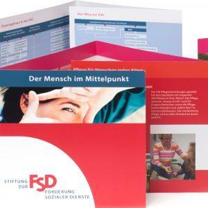 Corporate Design - FSD Stiftung zur Förderung sozialer Dienste