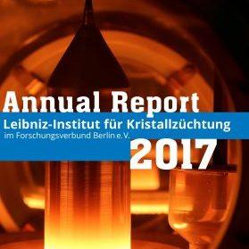 Editorial Design - Leibniz-Institut für Kristallzüchtung Geschäftsbericht