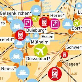 Pläne - Logistikkarte Deutschland - GTAI