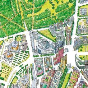 Pläne - Panorama Berlin - thematische Stadtpläne